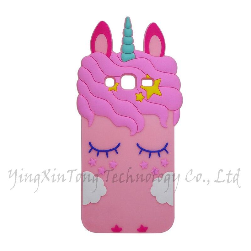 cover samsung j5 2015 con unicorni