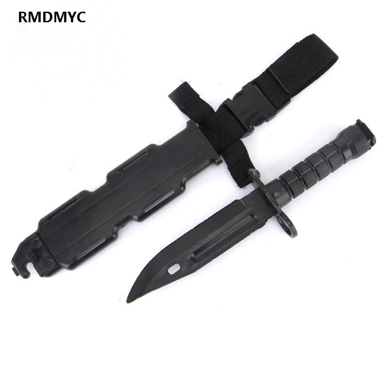 CS GO Counter Strike Survival Tactical Claw Neck Real Combat Fight Tactical Training M9 Rubber