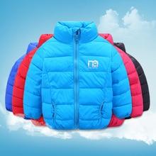 Обувь для мальчиков зима-осень куртка 2018 новый бренд дети Зимнее пальто для девочек с длинным рукавом windproofs детское пуховое пальто теплая верхняя одежда для детей от 1 года до 7 лет