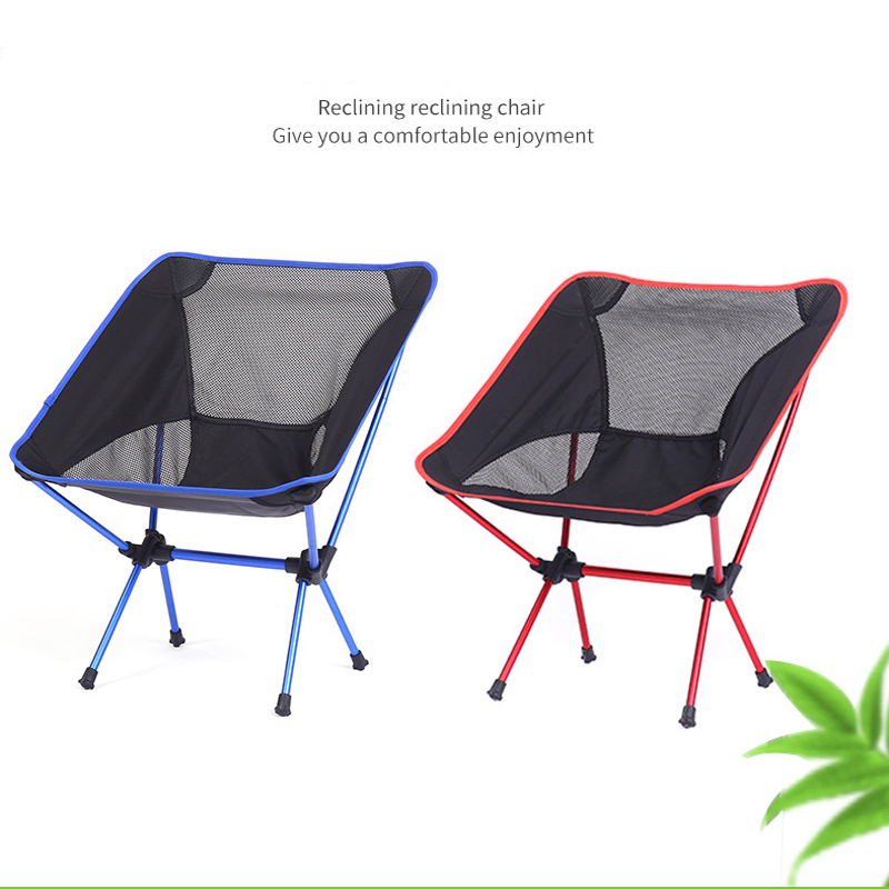 Portable Folding Fishing Chair Camping Chair Seat 600D Oxford Cloth Aluminium Fishing Chair for Outdoor Picnic BBQ Beach Chair folding outdoor camping hiking fishing picnic garden bbq stool tripod chair seat cloth chair