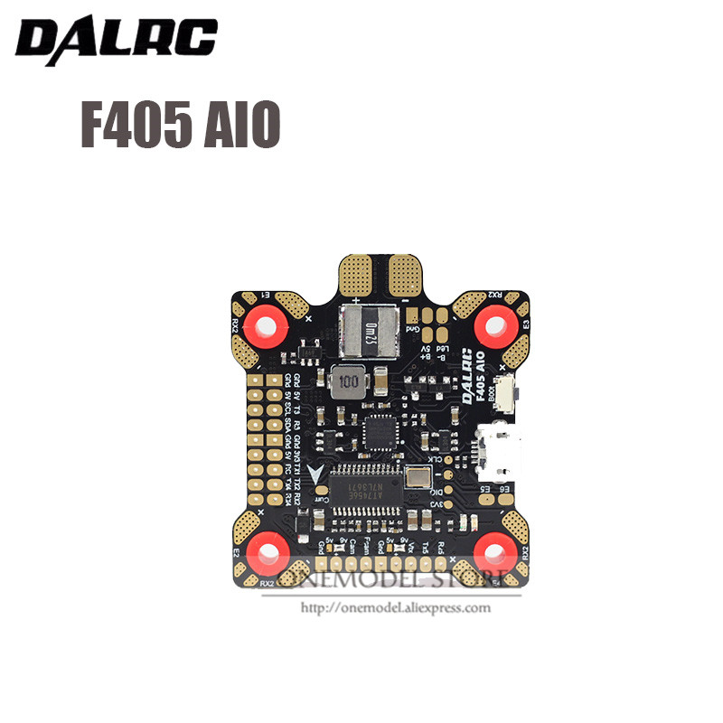 New DALRC F405 AIO Flight Control high quality MCU STM32F405RGT6 Built in OSD BEC 9V 3A