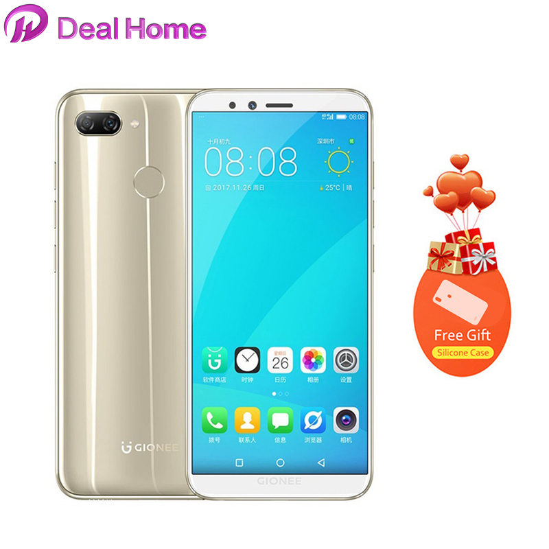 Gionee S11 Lite5.7 HD+ Full Screen Android 7.1 4G LTE 4GB+64GB Octa Core Smartphone Fingerprint GPS Mobile PhoneGionee S11 Lite5.7 HD+ Full Screen Android 7.1 4G LTE 4GB+64GB Octa Core Smartphone Fingerprint GPS Mobile Phone