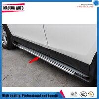 High quality aluminium alloy pedal side step running board for RAV4 2013 14 15 16 17 18 19