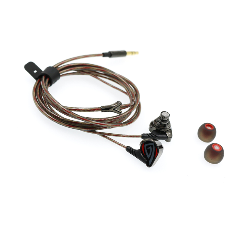 OSTRY KC06A ( + OS100 OS200 OS300 Options )  Dynamic HIFI In-Ear Earphone Process of Vacuum Coating Wired Earbuds 3.5mm plug