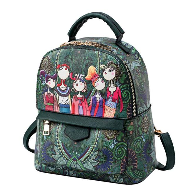 40d391b37e5a Women Mini backpack leather backpack school bags for teenage girls women  Xiniu backpacks travel mochila escolar feminina A13 23
