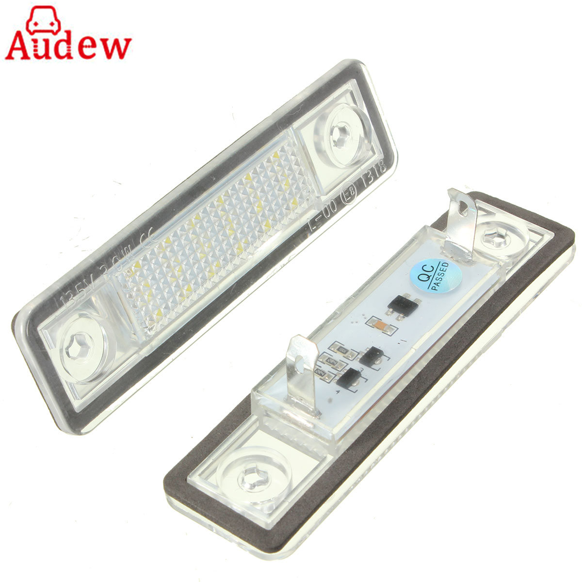 2Pcs Car LED License Plate Lights 12V White Number Plate Lamp For Vauxhall For Opel/Corsa/Astra/Omega led lamps lights white plate vauxhall opel corsa astra insignia vectra
