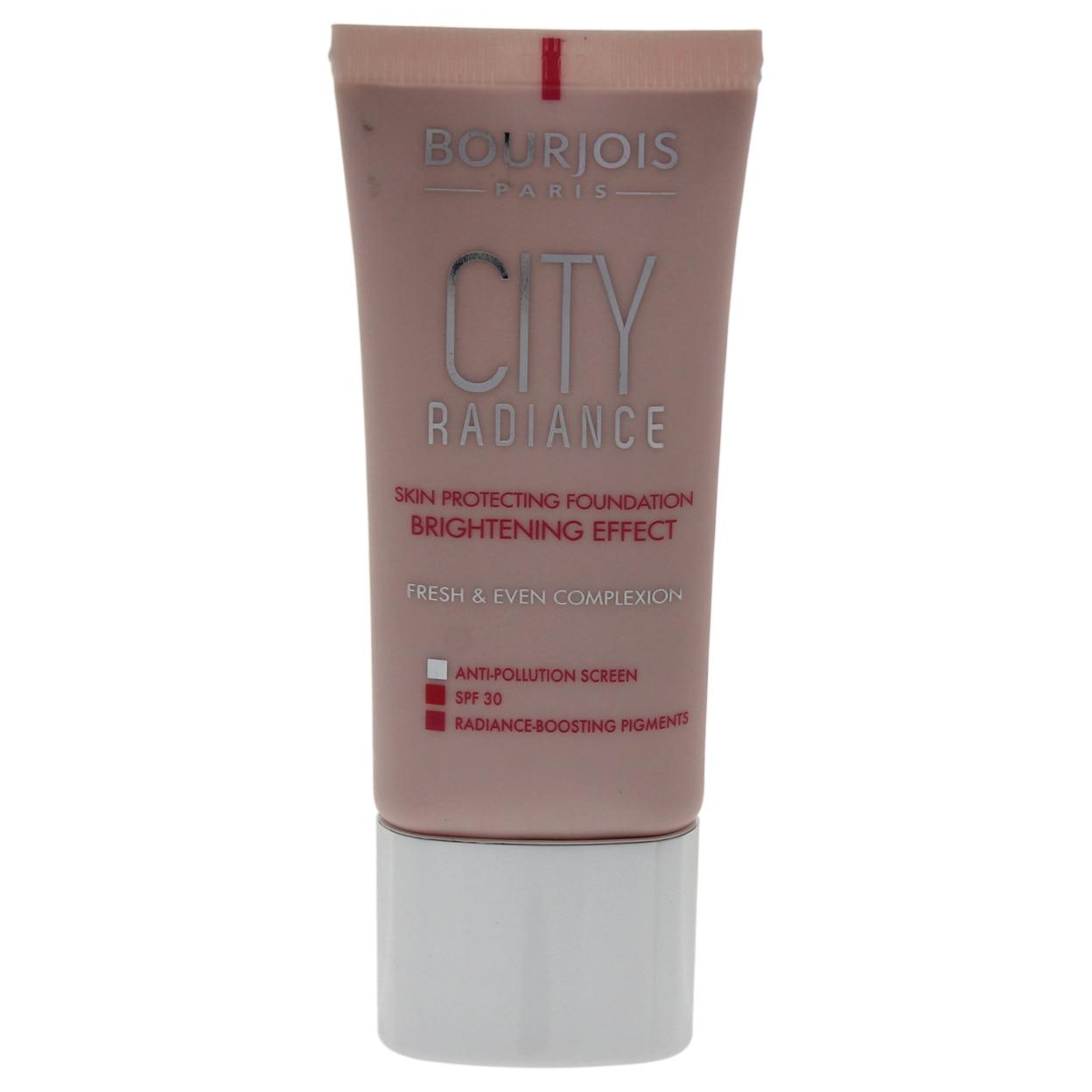 City Radiance Skin Protecting Foundation SPF 30 - # 04 Beige de Bourjois para Mujeres - 1 oz Foundation bourjois foundation