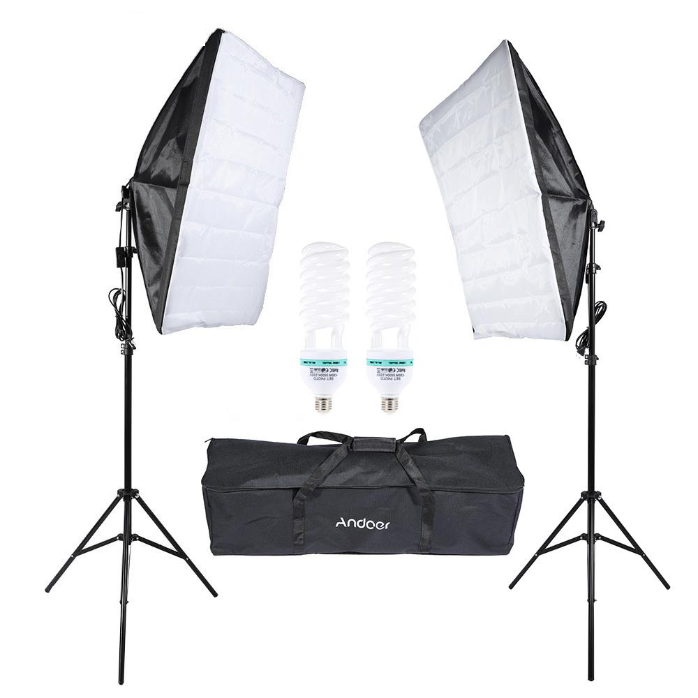 Photography Studio Cube Umbrella Softbox Light Lighting Tent Kit Photo Video Equipment Carrying Bag For Portrait