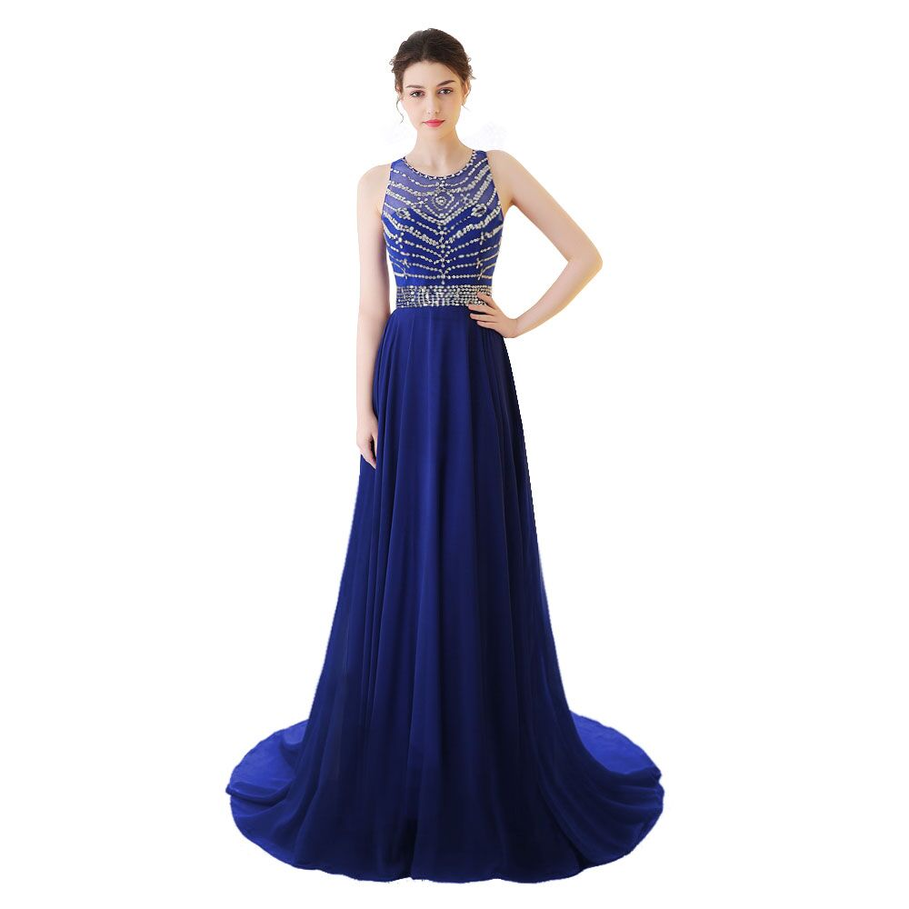 Chiffon Mother and Daughter Clothes Sleeveless Women Evening Dress For Party and Evening Gowns Hade Make Prom Dresses For Women stylish irregular hem sweetheart neckline sleeveless chiffon dress for women