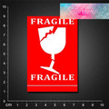 Free shipping PVC sticker waterproof UV proof  , fragile 05 BLINGIRD