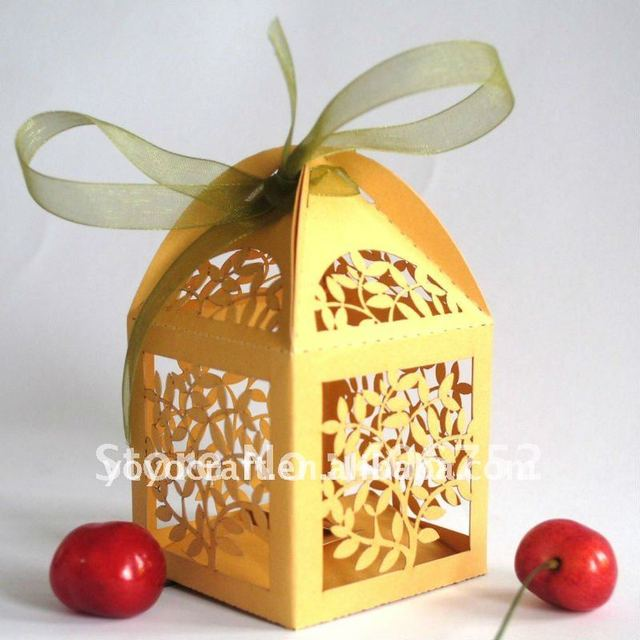 laser cut large outdoor christmas gift decorations cupcake boxes wholesale to decorative your party for wholesale