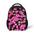 Flower Printing Kids Backpack Floral School Backpack for Baby Girls Mochila Toddler Candy Color Kindergarten Little Girl Bagpack