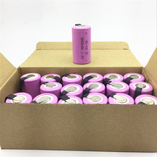 18PCS/LOT Sub C SC 1.2V 3000mAh Ni-Cd Ni Cd Rechargeable Battery Batteries PINK color  for makita tools dewalt