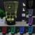 HUI YUAN SpongeBob 3D Humor Lâmpada Night Light RGB Mutável LED decorativo candeeiro de mesa de luz dc 5 v usb obter um free remoto controle