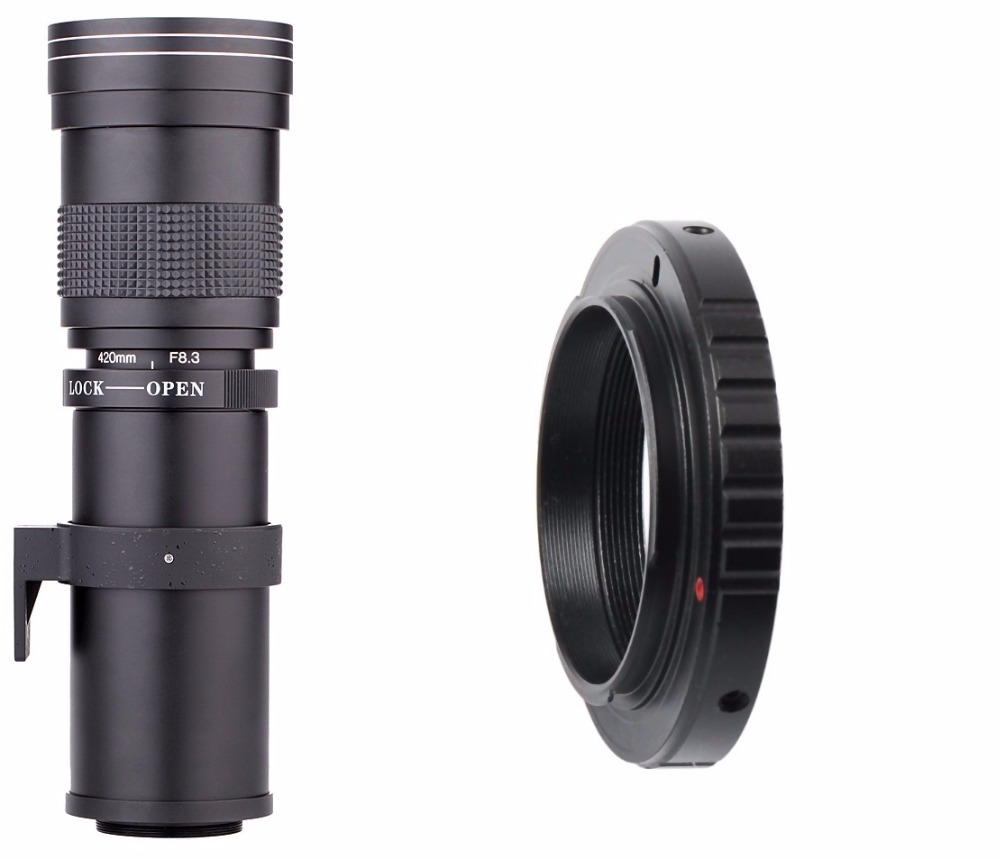 Lightdow 4-800mm F/8.3-16 Super Telephoto Lens Manual Zoom Lens for Canon Nikon Sony Pentax DSLR Camera 11