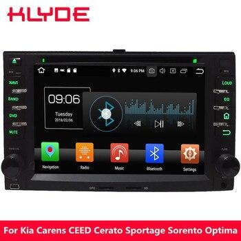 KLYDE Android 8.0 Octa Core 4GB RAM 32GB ROM Car DVD Multimedia Player For Kia Magentis Pride Picanto Rondo Sedona Sorento Rio