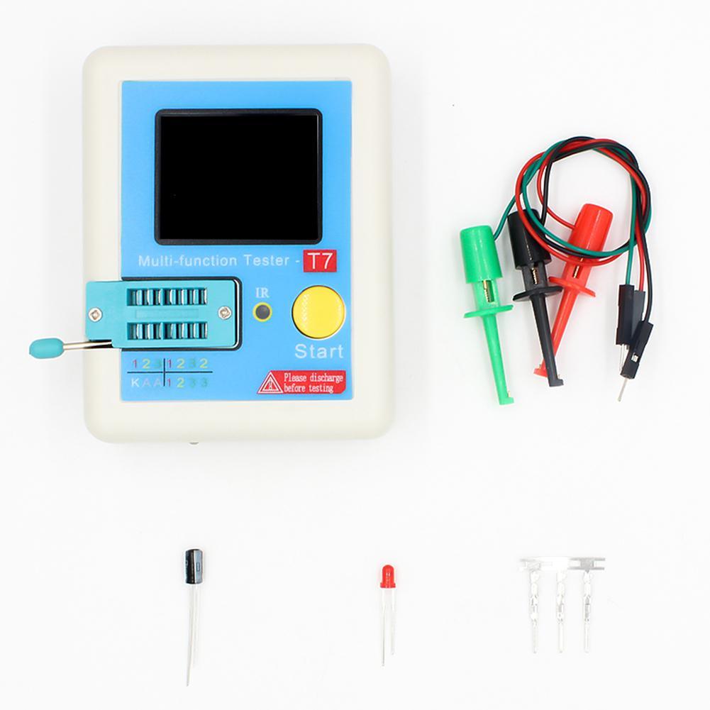 LCR-T7 ESR Диод Триод Емкость Mos Транзистор тестер+ Корпус измеритель емкости