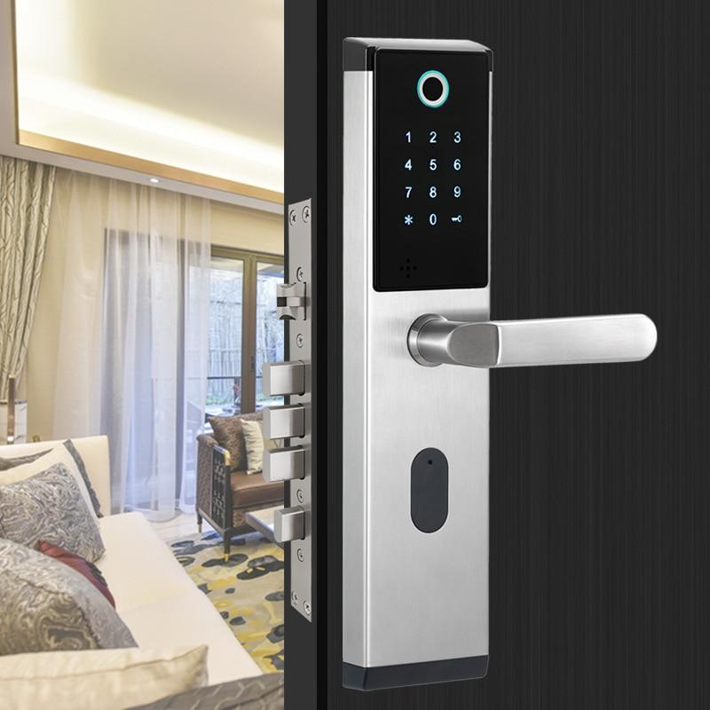 HTB1rBQTVCzqK1RjSZPcq6zTepXai YOHEEN Smart Biometric Fingerprint Lock with Digital Password RFID Card Key Electronic Smart Fingerprint Door Lock