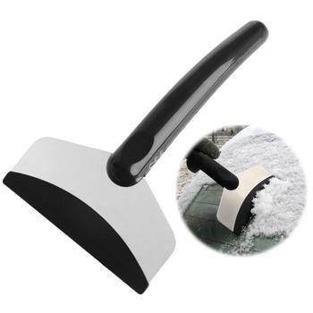 Przenośny do samochodu przedniej szyby skrobak do usuwania śniegu łopata do lodu okno urządzenia do oczyszczania tanie i dobre opinie QILEJVS 00inch 18cm ABS PP Skrobaczka 10 7cm