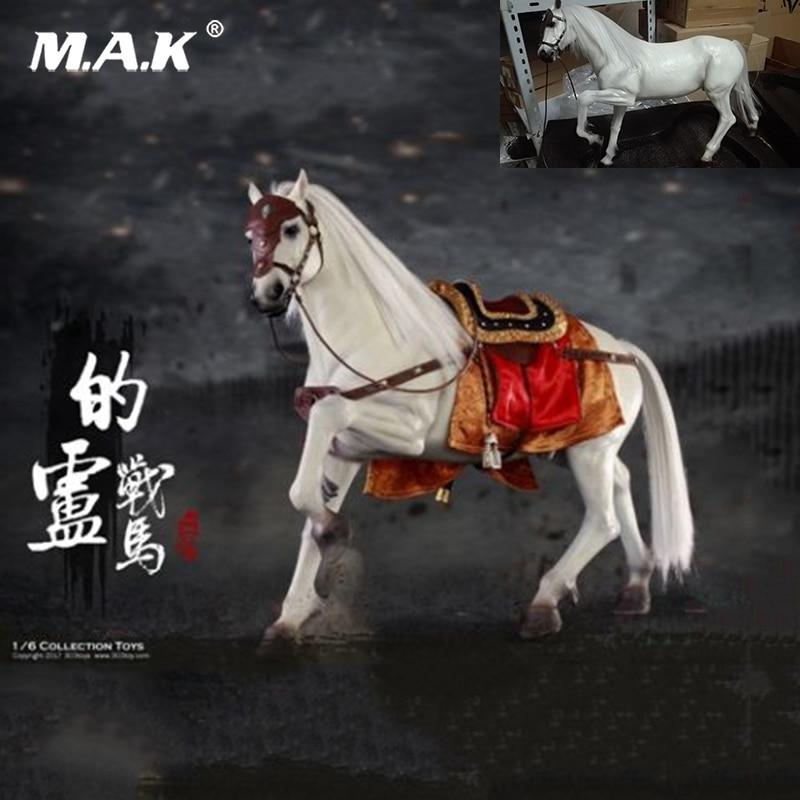 Collection 303 JOUETS NO 120 1/6 Trois Royaumes Liu Bei Guerre Cheval Antique Chevaux Figure Jouets pour 12 ''D'action figure Corps Accessoire