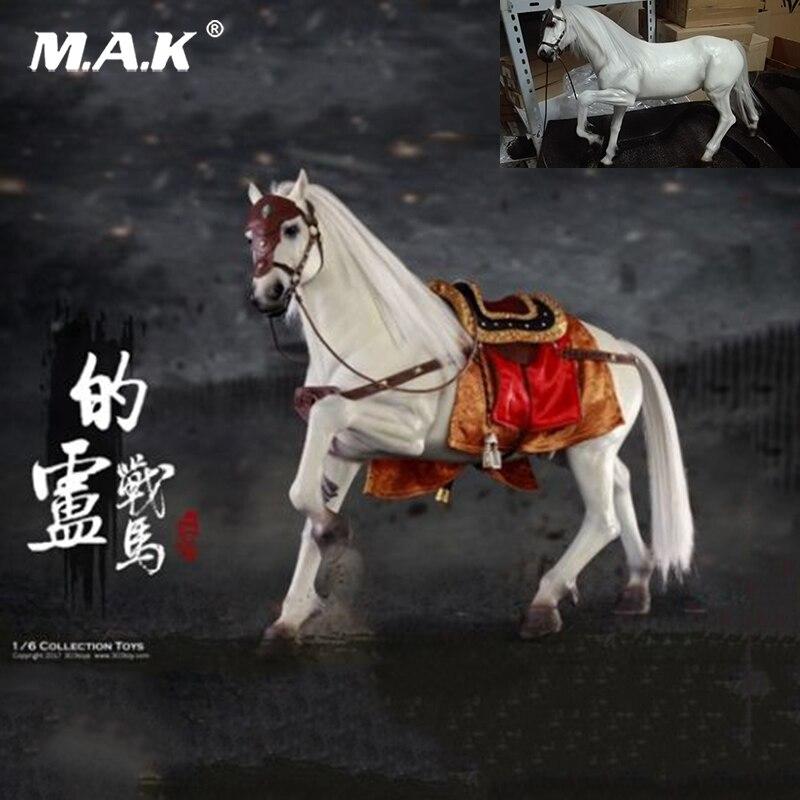 Da collezione 303 GIOCATTOLI NO. 120 1/6 Tre Regni Liu Bei War Horse Antico Cavalli Figura Giocattoli per 12 ''Action figura Del Corpo Accessorio