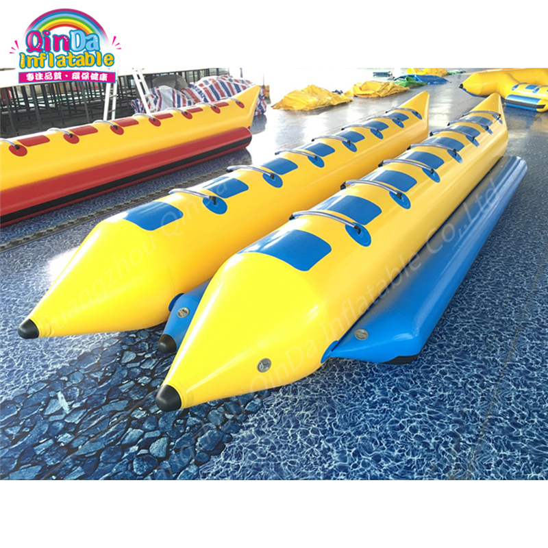 Motors Flying Towables,Inflatable Folding Inflatable Banana Boat Flying Fishing Equipment Banana Boat With Free Air Pump 3 tubes flying towables inflatable flying fish banana boat for water sports inflatable flying towables tube sport boat