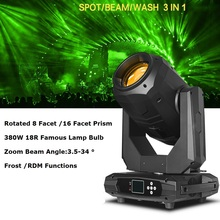 380W 18R Lyre Beam Spot Wash 3IN1 Moving Head Light Beam 380W 18R Beam Stage Light Effect Dj Laser Lights DMX Disco Light Party 10r 280w beam spot wash 10r sharpy moving head beam spot wash 280w rgb 3in1 moving head beam spot light