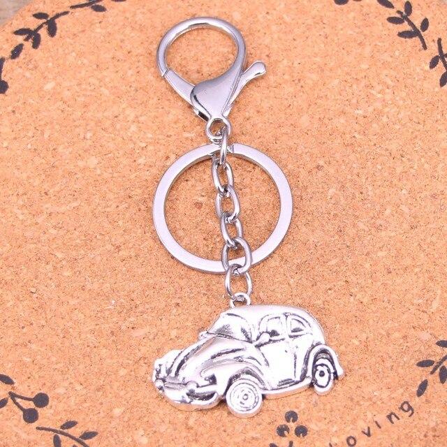 New Fashion Silver Color Alloy Metal Pendant car vw bug beetle herbie Key  Chain Key Ring Gift For Car Keychain Accessory efe68e6e8e