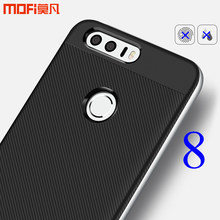 "For Huawei honor 8 case MOFi for huawei honor 8 cover TPU soft case PC frame lines honor 8 accessories capa coque funda 5.2""(China)"