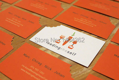 Custom Shape Business Card Printing Personalized Die Cut Visiting