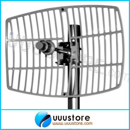 5.8GHz 24dBi Signal Amplification Antenna Wireless LAN Systems Grid Long Distance Directional Parabolic FPV Antenna