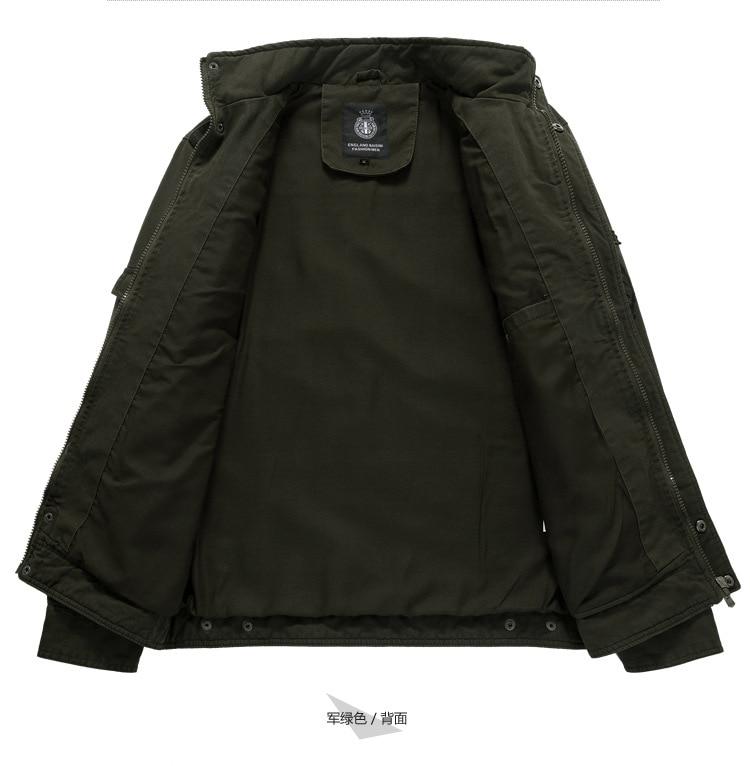75ec8872f HOT SALE] Cotton Military Jacket Men 2019 Autumn Soldier MA 1 Style ...
