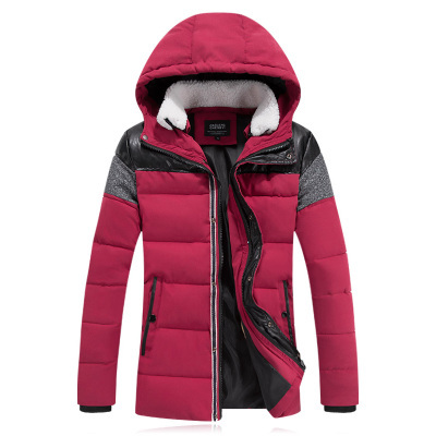 Men\'s Winter Jackets Cotton-Padded Jackets Outdoor...
