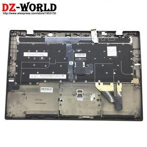 Image 2 - 新しい/Orig thinkpad の X1 カーボン 3rd 世代 20BS 20BT 英国英語バックライトのキーボードタッチパッド 00HT329 00HN974 SM20G18634