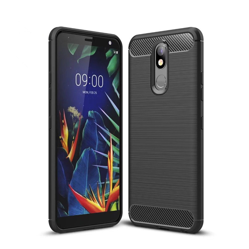 For LG K12 Plus Case 5.7 inch Luxury Full Soft Silicone Cover ShockProof Case For LG <font><b>K12Plus</b></font> K12+ X420BMW LM-X420BMW Phone Cases image