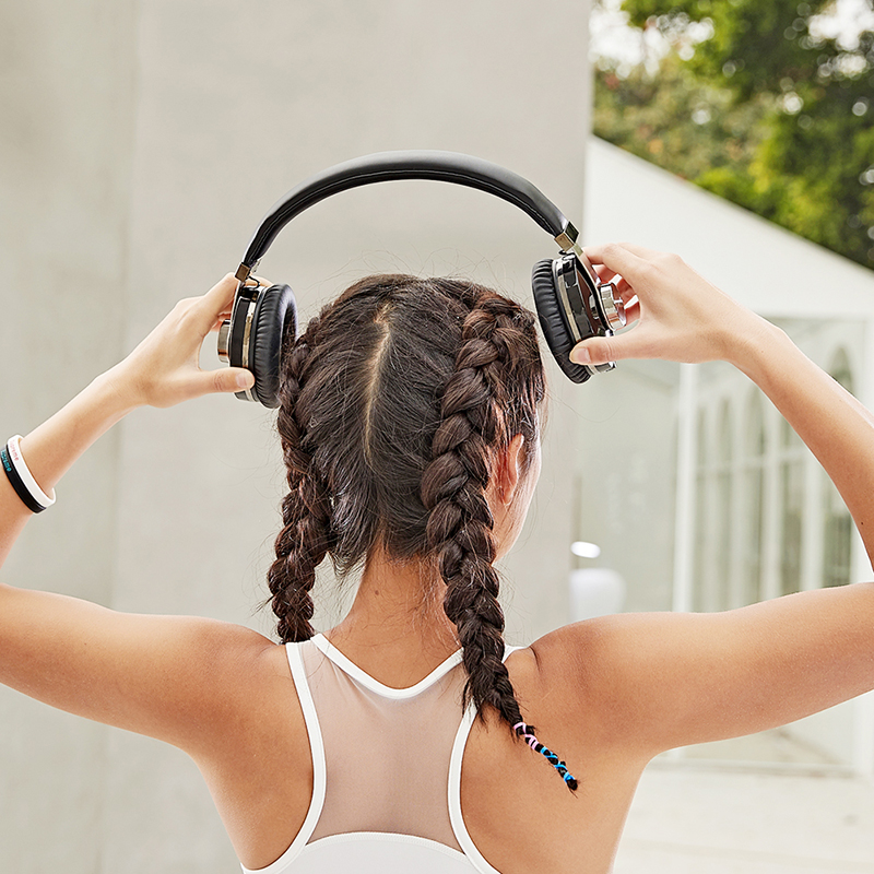 T9 casque Bluetooth réduction de bruit Active casque sans fil Portable et musique avec commande vocale - 6