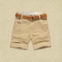 Baby Kids Shorts 2017 Children Summer Cotton Short Pants For Boys Teens Shorts Casual Clothing 2