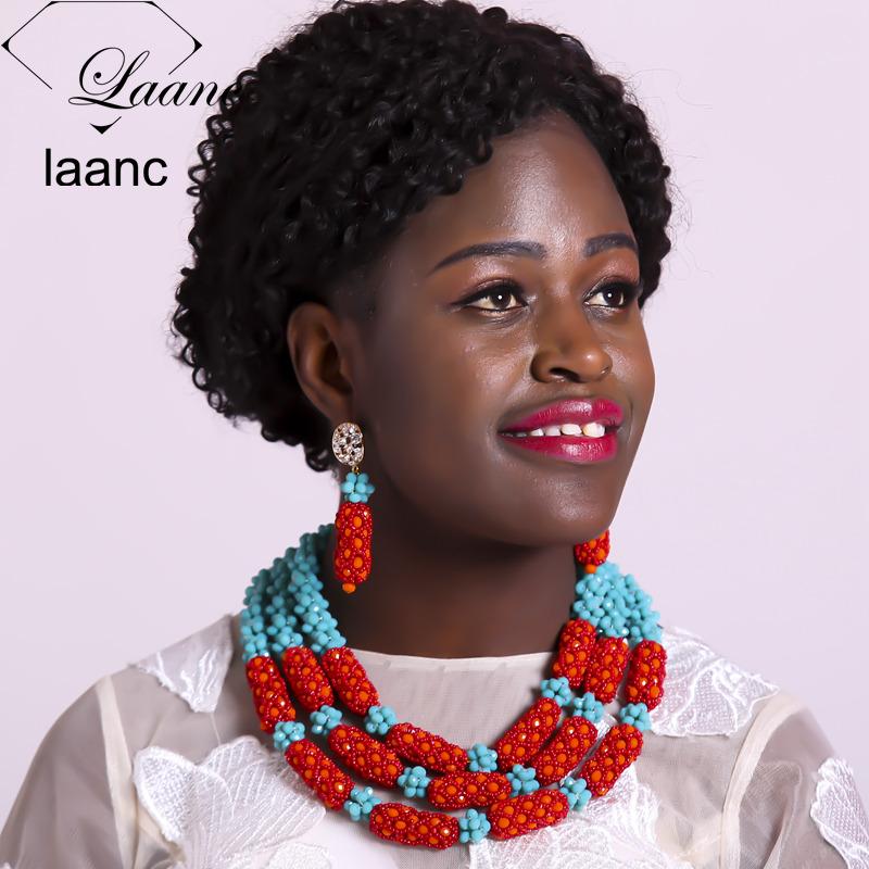 03-African Beads Jewelry Set (3)