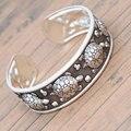 Nova Chegada Antigo de Prata Banhado Em Forma de Tartaruga Tibetano Pulseiras Mulheres Bracelet Cuff Bangle Hot Sale Jóias Ajustável 610368