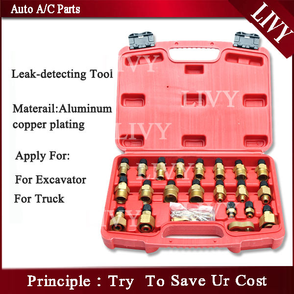 auto air conditioning repair tool ac leak detective kit for Truck and Excavator excellent sourcing solution for auto air conditioning or bus air conditioner or truck ac page 9