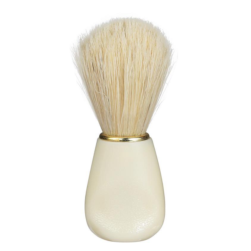 Qualified Men Shaving Shave Brush badger hair Plastic Handle Barber Salon Tool WH 3JY13