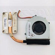 Original portátil dissipador de calor ventilador refrigeração cpu cooler para lenovo g470 g470a g470ah g570 cpu dissipador de calor