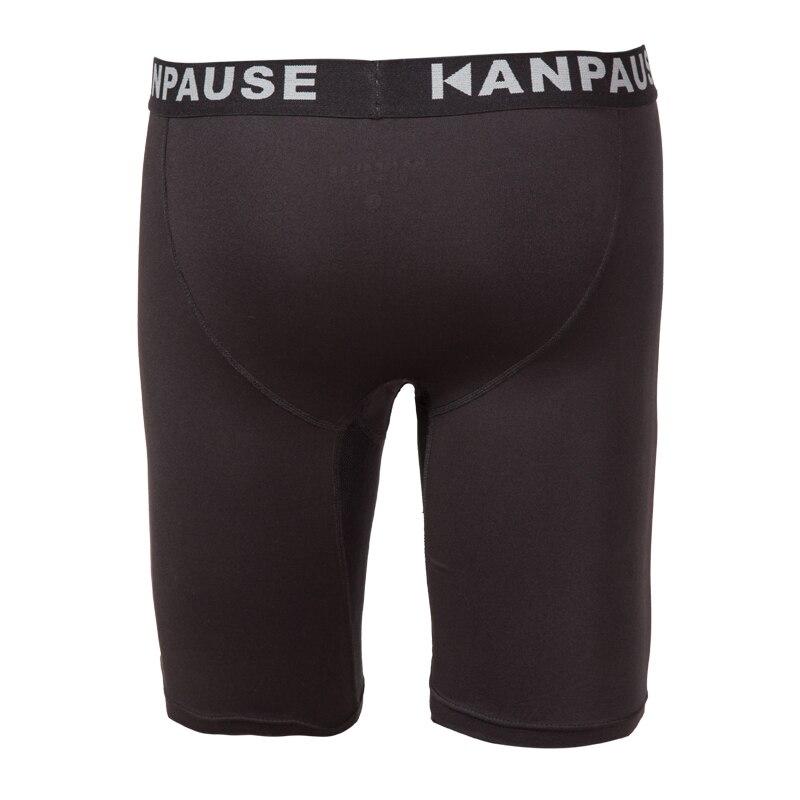 Yeni Varış KANPAUSE erkek Koşu Spor Şort Sıkıştırma Tayt Spor - Spor Giyim ve Aksesuar - Fotoğraf 2