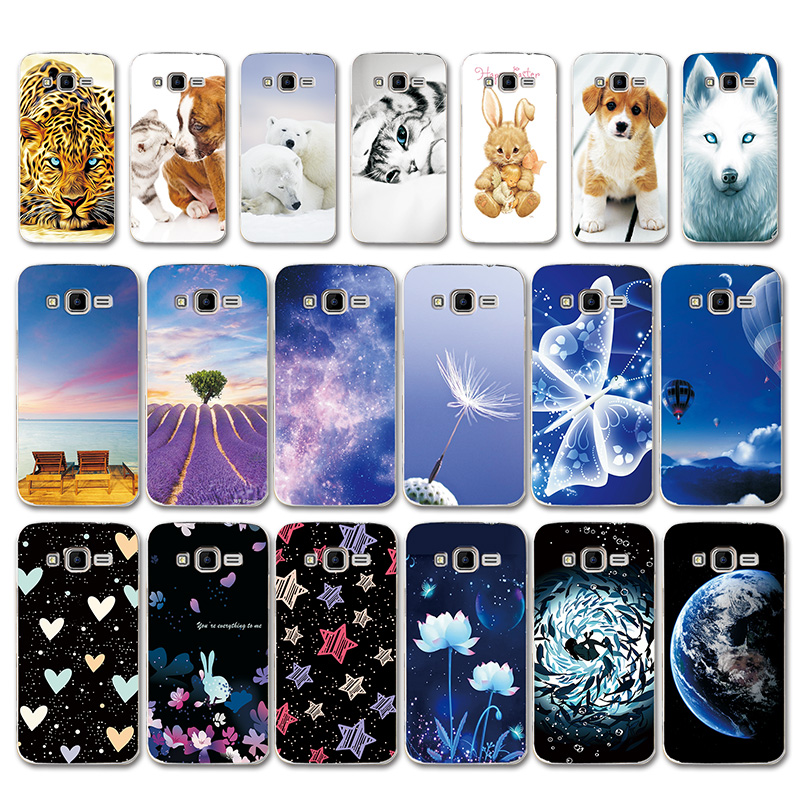 Love Heart Capa For <font><b>Samsung</b></font> <font><b>Galaxy</b></font> <font><b>Core</b></font> <font><b>Prime</b></font> G3608 Cases Cover G360 G3606 G3608 G3609 G361F <font><b>G360H</b></font> G360F G361H Star Phone Bags image