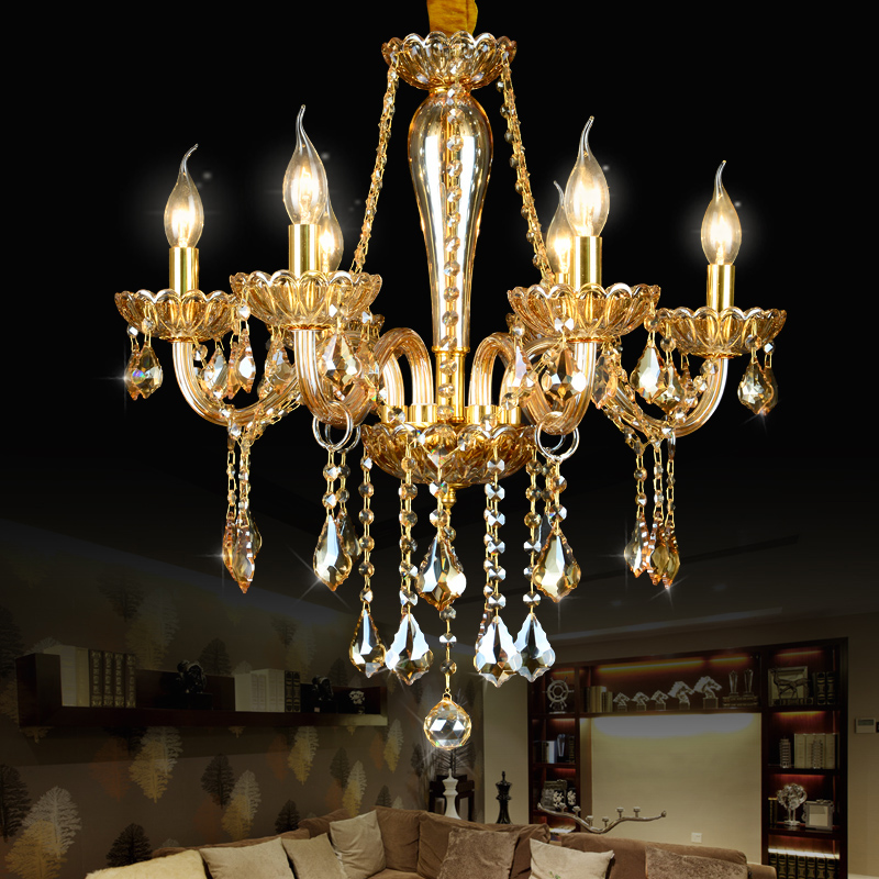 modern led chandelier crystal lustres de cristal sala kronleuchter chandeliers for dining lamp. Black Bedroom Furniture Sets. Home Design Ideas