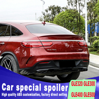 2015 2016 2017 to up high quality rear trunk rear wing spoiler for benz GLE GLE320 GLE300 GLE400 GLE500 by primer or any color