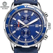 Chronographe Sport Mens Montres Haut Marque De Luxe OCHSTIN Mode Militaire Quartz Montre Horloge Relogio Masculino Reloj Hombre 2016