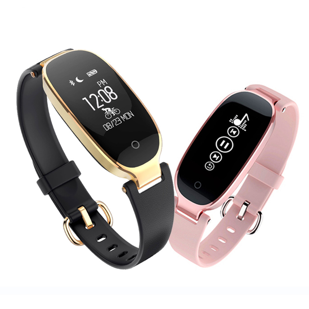 Bluetooth Waterproof S3 Smart Watch Fashion Women Ladies montre Heart Rate Smartwatch relogio inteligente For Android IOS