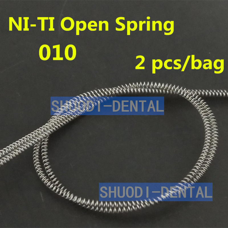 Dental Orthodontic Single Anterior Teeth Tooth Torque Spring Dental Orthodntics Niti Open Close Coil Spring