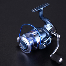 High Quality Spinning Fishing Reel GT1000-7000 Big Fish Speed 13+1BB Full Metal Head Arm Wheel Boat Tackle